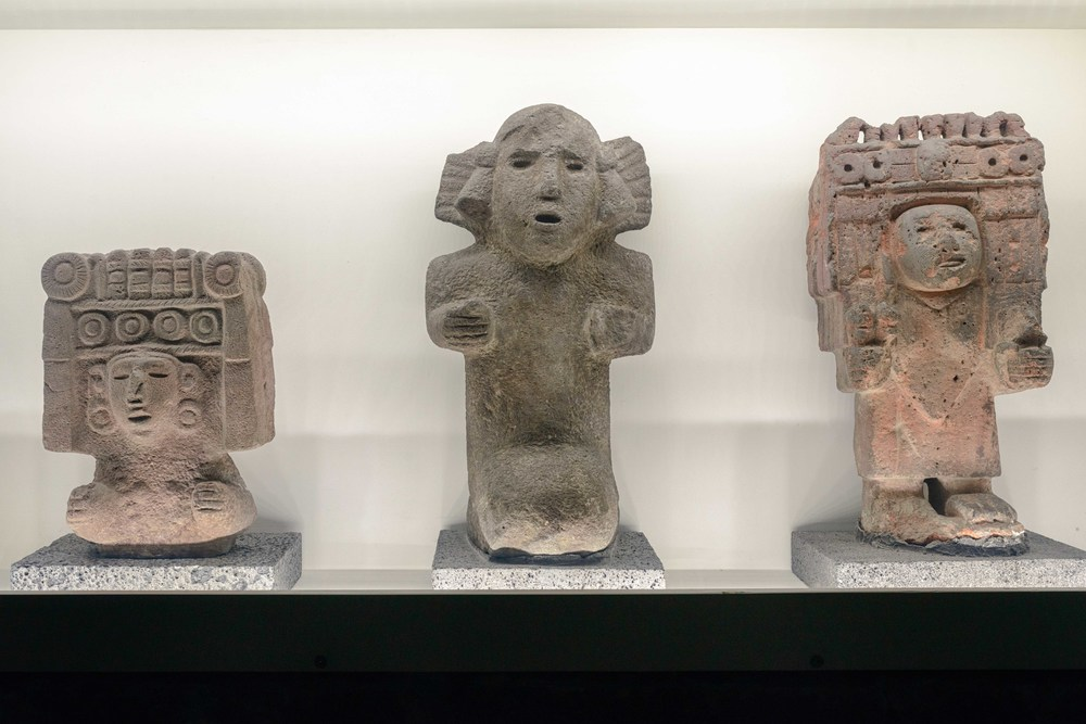 Collections atAnahuacalli Museum in Mexico City.