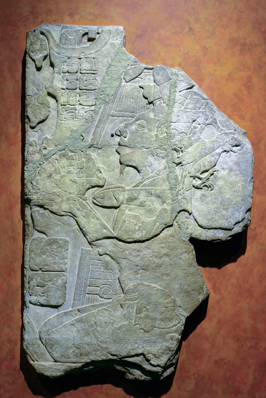 Tombstone Jonuta, Palenque, Chiapas.