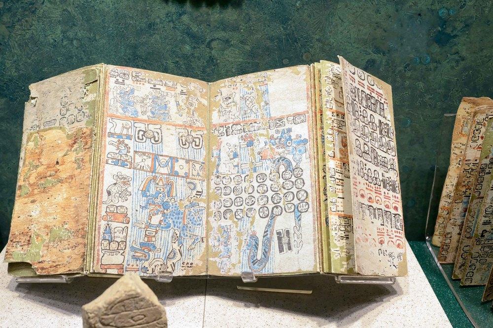Maya codices.
