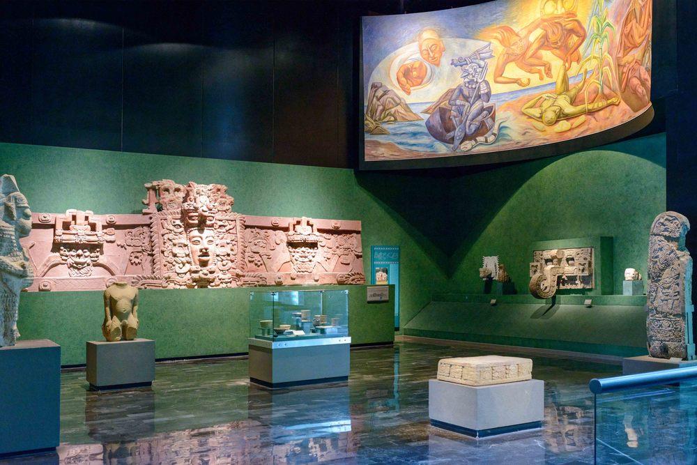 View inside the Maya section.