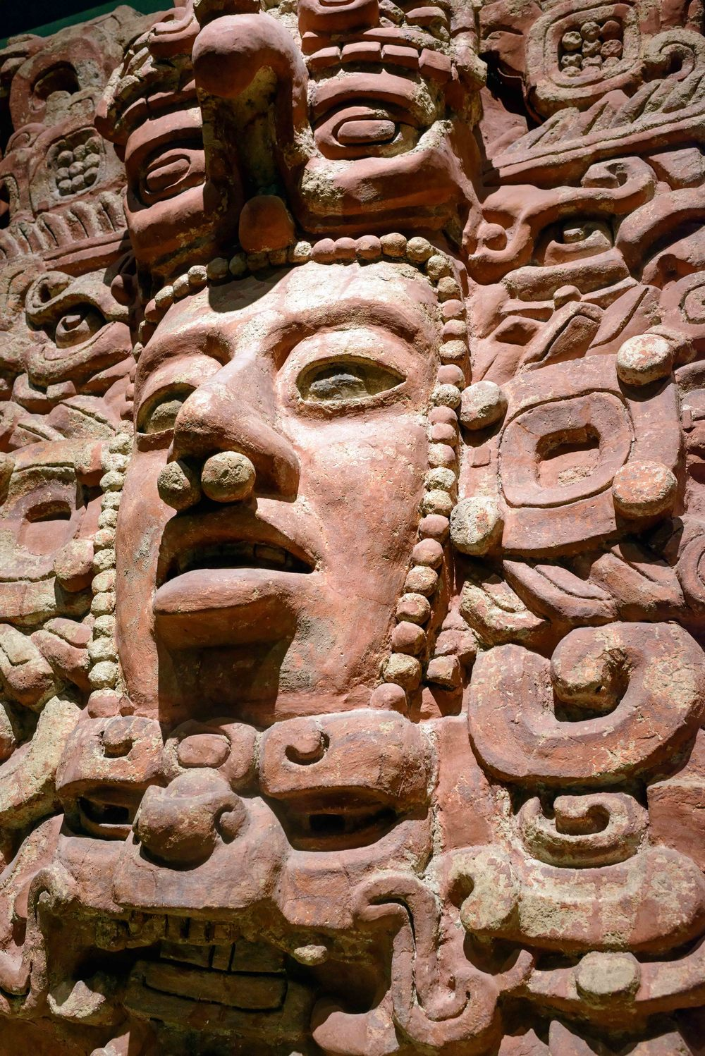 Stucco frieze (fragment), Placeres, Campeche.