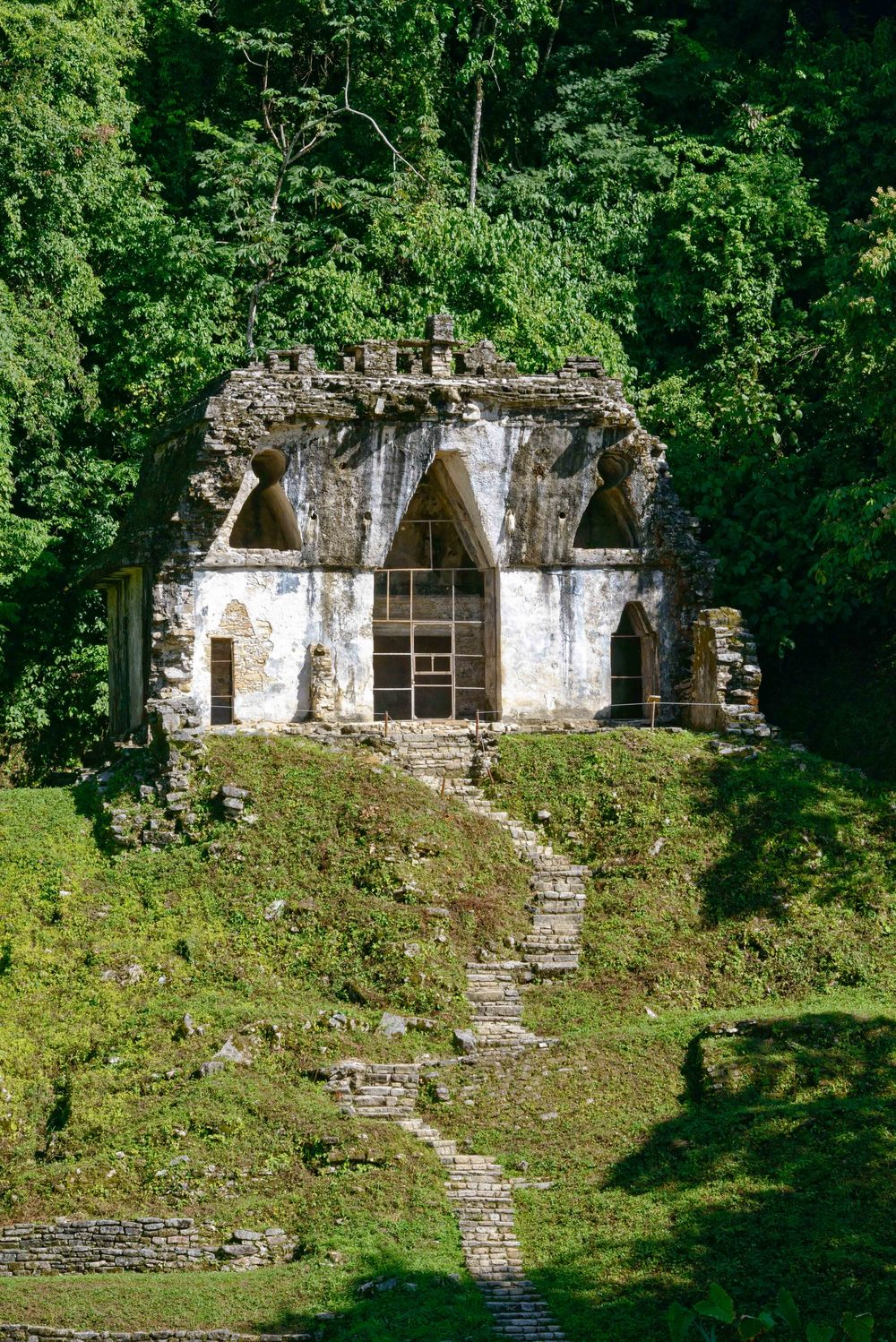 The  Temple of the Foliated Cross .