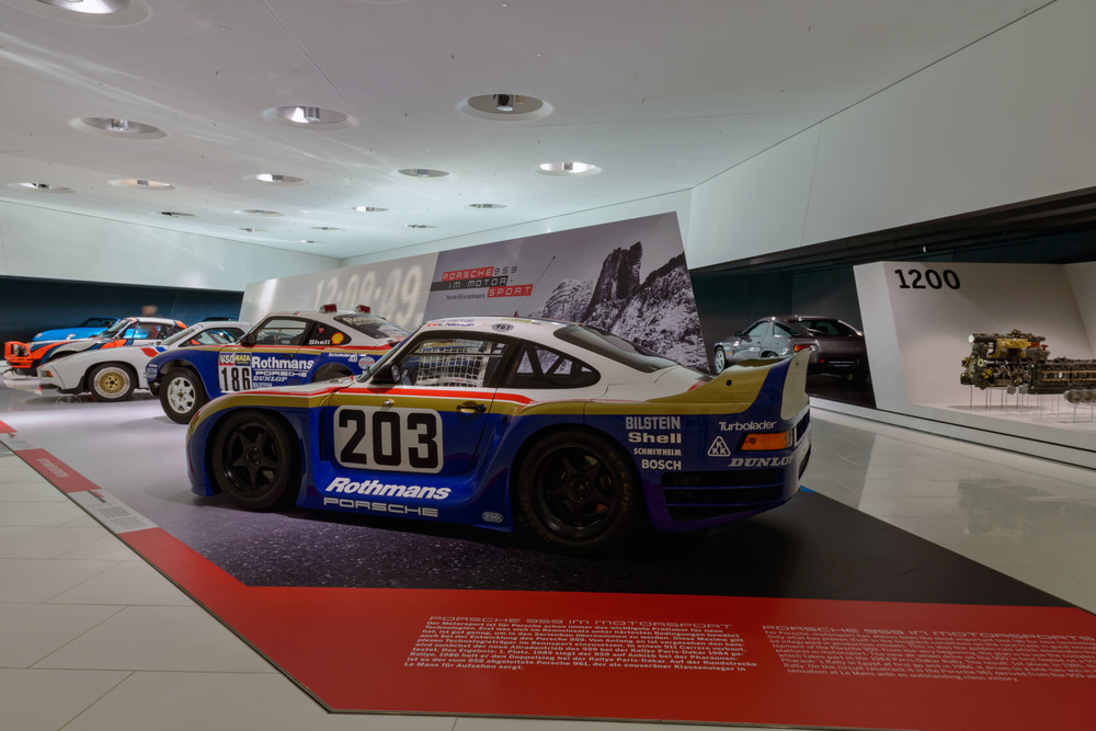 "Special Exhibition: September 30, 2015 to January 10, 2016: ""The Super Porsche. 30 Years of Porsche 959."""