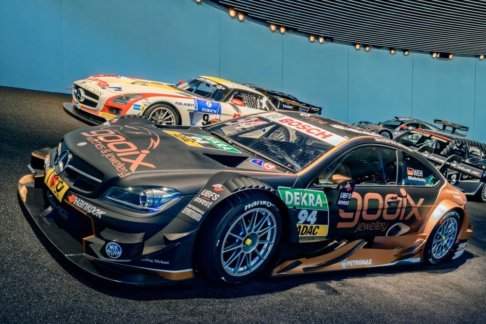 With this 2015 Mercedes-AMG  C 63  DTM Pascal Wehrlein took the DTM Championship in 2015.