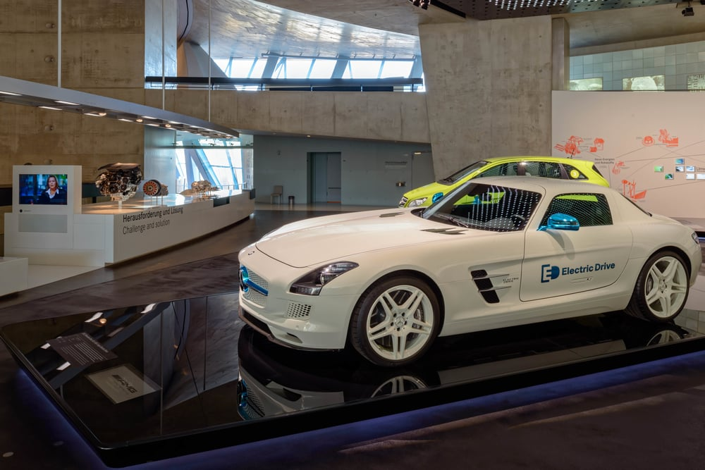 2012 Mercedes-Benz SLS AMG Coupe Electric Drive