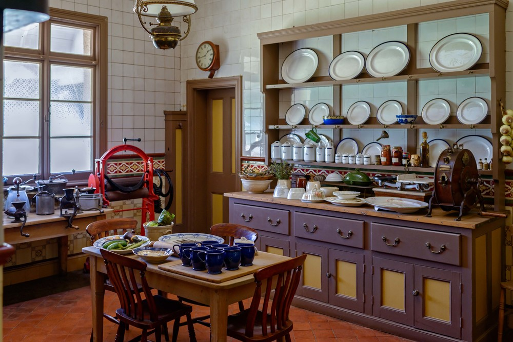 Kitchen in Melrose House, Pretoria.