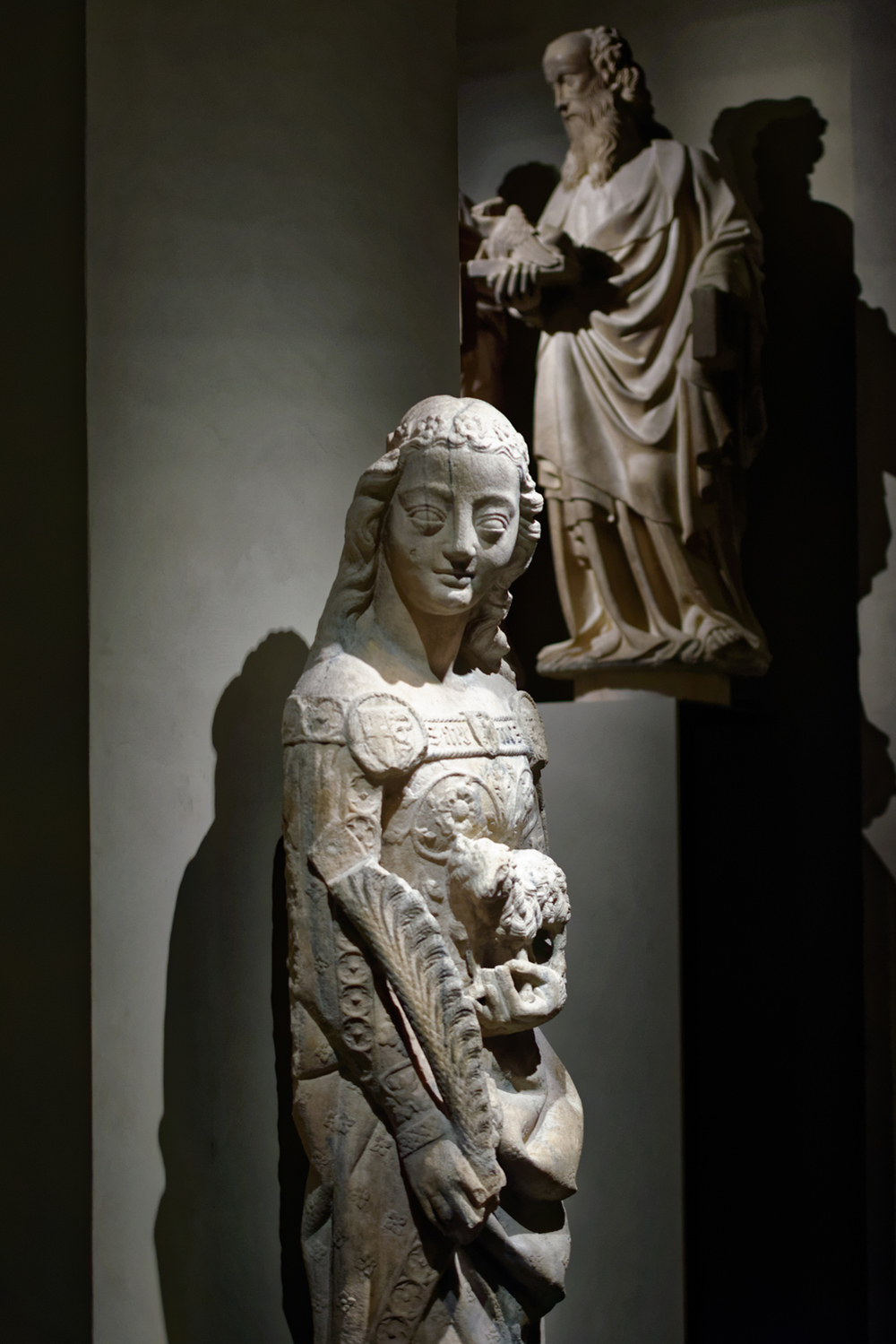 Statues of Evangelist and Apostiles , 14th century. Duomo di Milano, Museum.