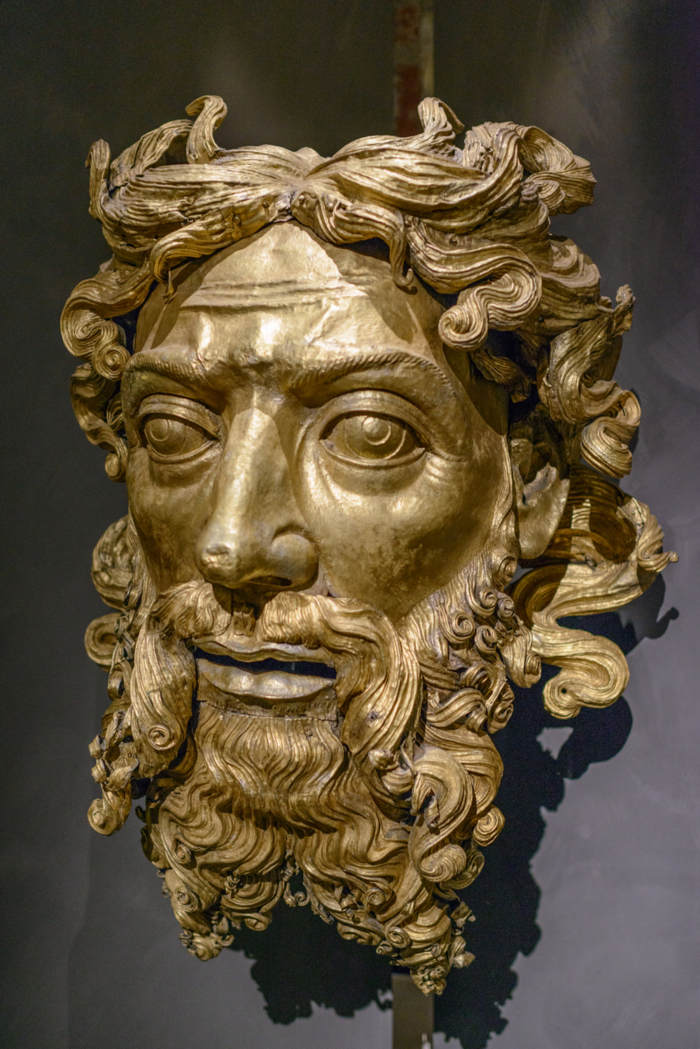 God the Father , Beltramino de Zutti, 1416-1425. Duomo di Milano, Museum.