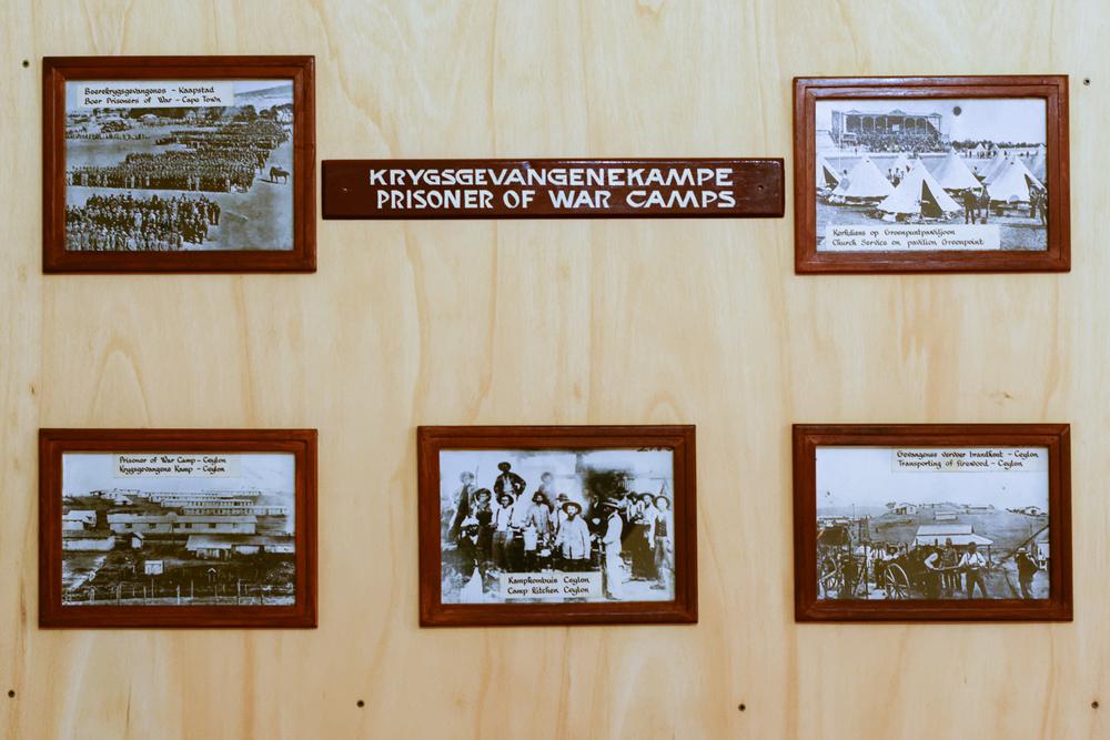 Pretoria Fort Klapperkop. Pictures of Prisoner of War Camps.