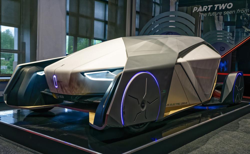 """Shiwa, concept car. Exhibition """"Quattroruote Road to Revolution"""". Villa Reale Monza."""