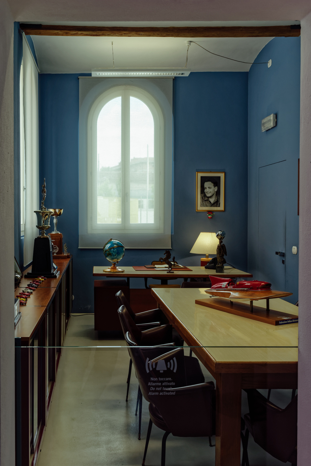 Enzo Ferrari´s office in the Maranello factory.