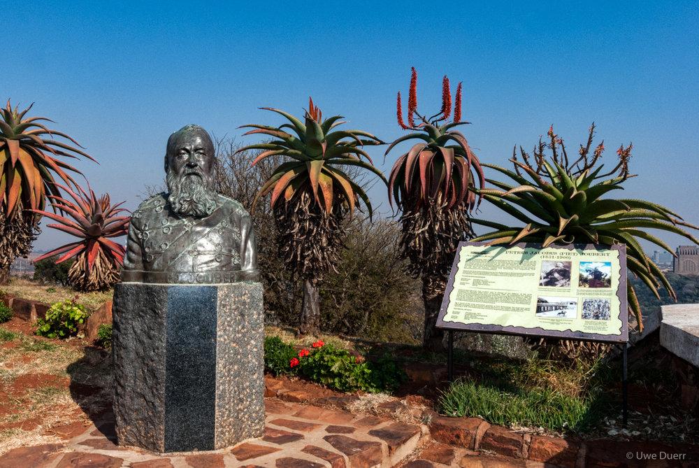 P.J. Joubert statue, Fort Schanskop.