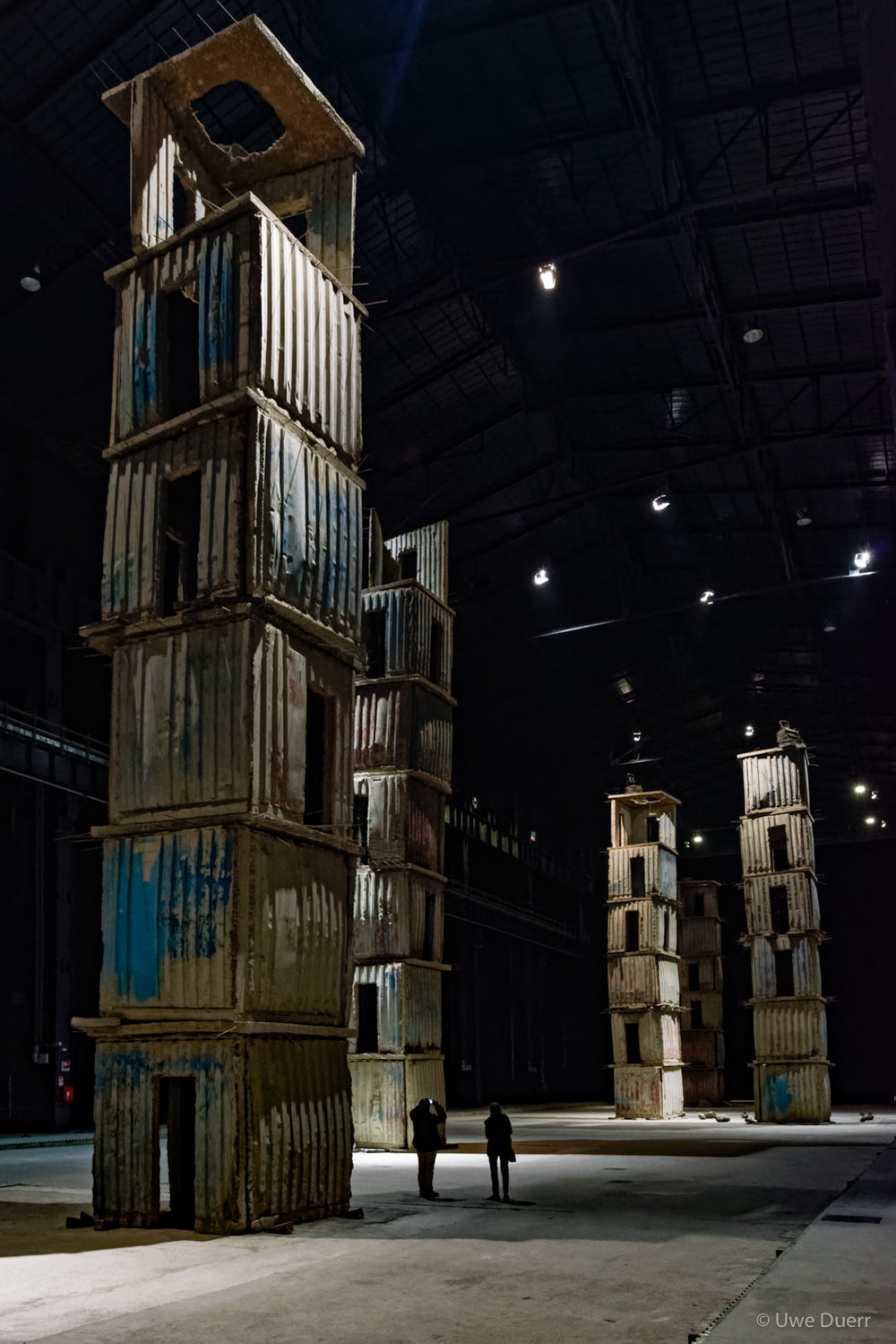 Anselm Kiefer - The Seven Heavenly Palaces, 2004-2015.