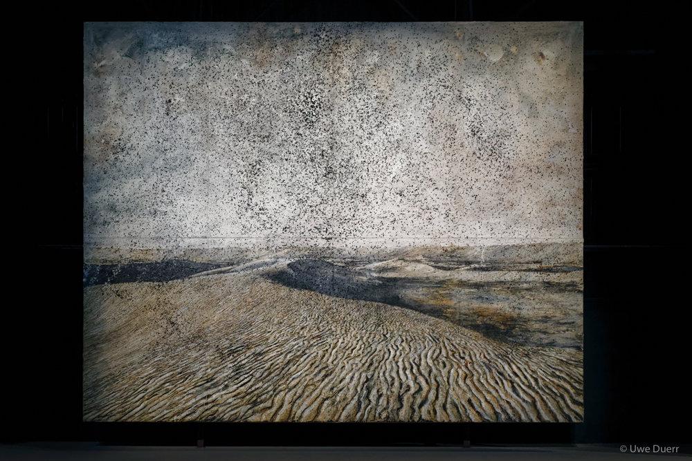 Cette obscure clarté qui tombe des étoiles, 2011.   Anselm Kiefer - The Seven Heavenly Palaces, 2004-2015.