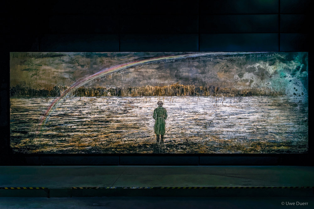 Die Deutsche Heilslinie, 2012-2013.   Anselm Kiefer - The Seven Heavenly Palaces, 2004-2015.