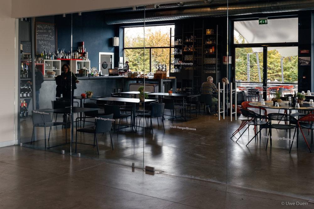 Café Restaurant , Pirelli HangarBicocca, Milan.