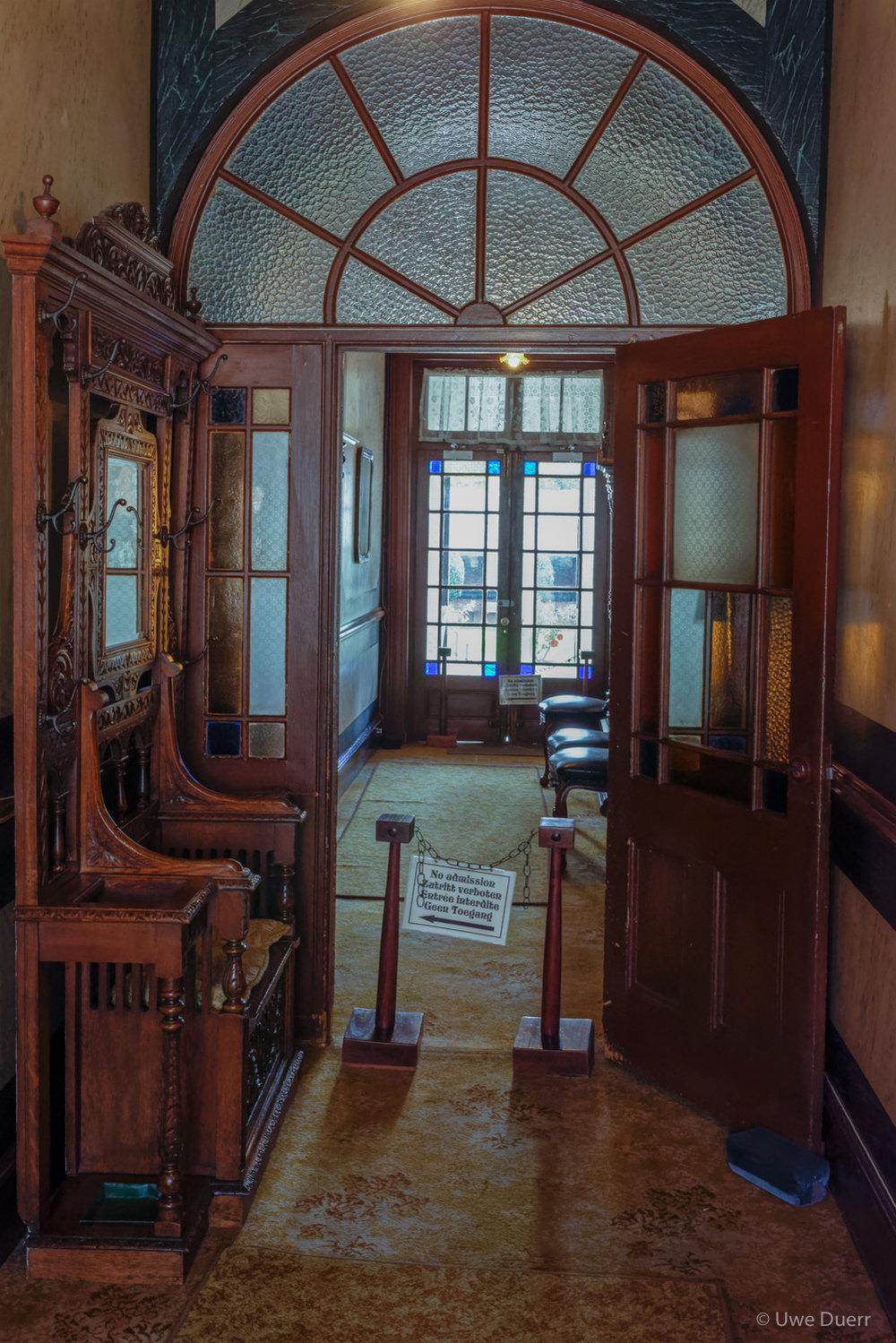 Doorways in Paul Kruger Museum, Pretoria.