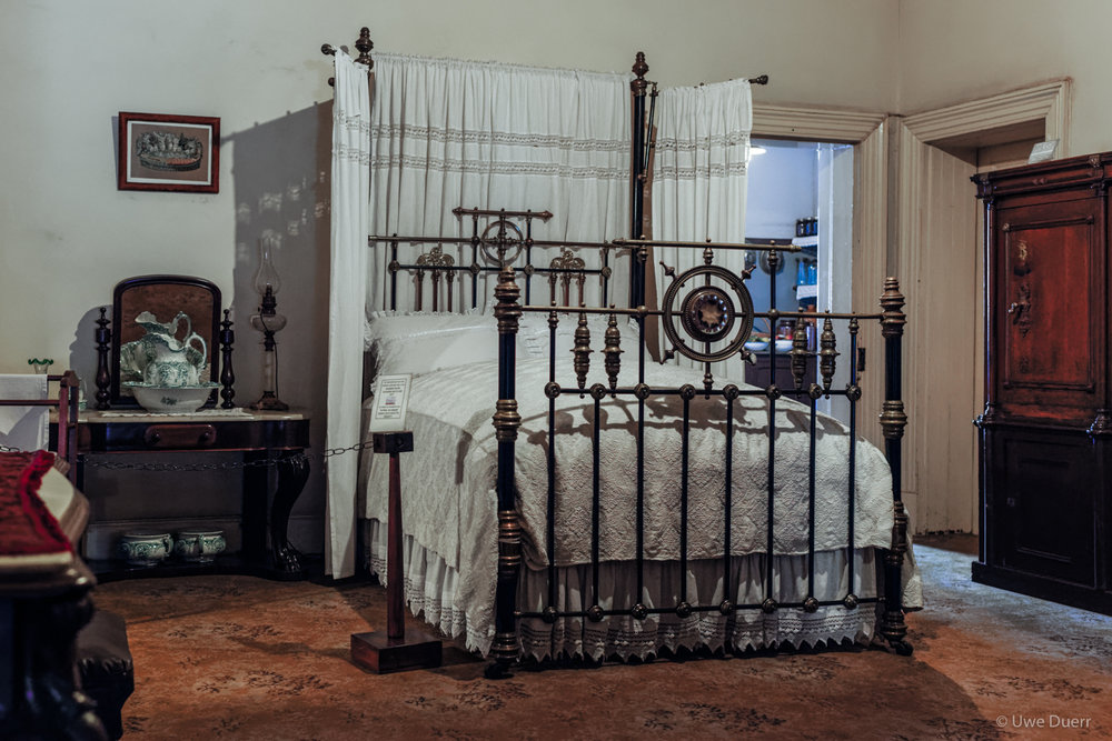 Bedroom in Paul Kruger Museum, Pretoria.