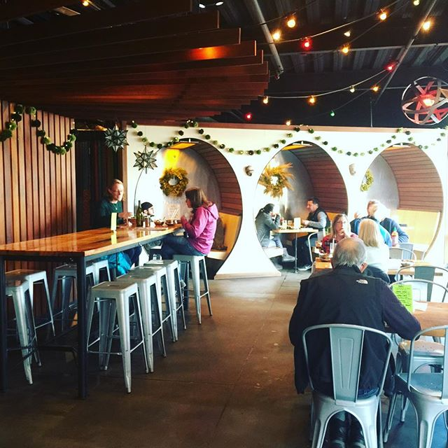 Asian, Soul Food, Mexican fusion???? Okay, when in Rome, right? Yummmmmmmm.... . . . . #fusionfood #bendoregon #bendfoodie #restaurantdesign #booths #funkyinteriors #hotthespot