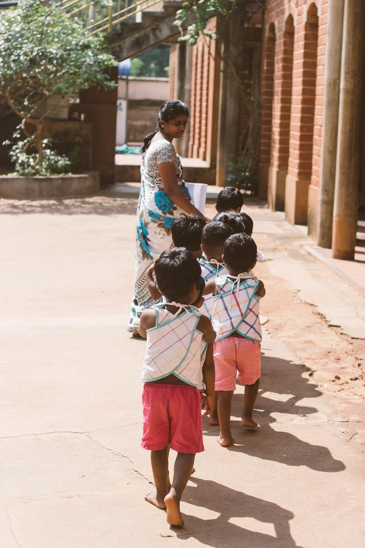 volontariat children pondicherry