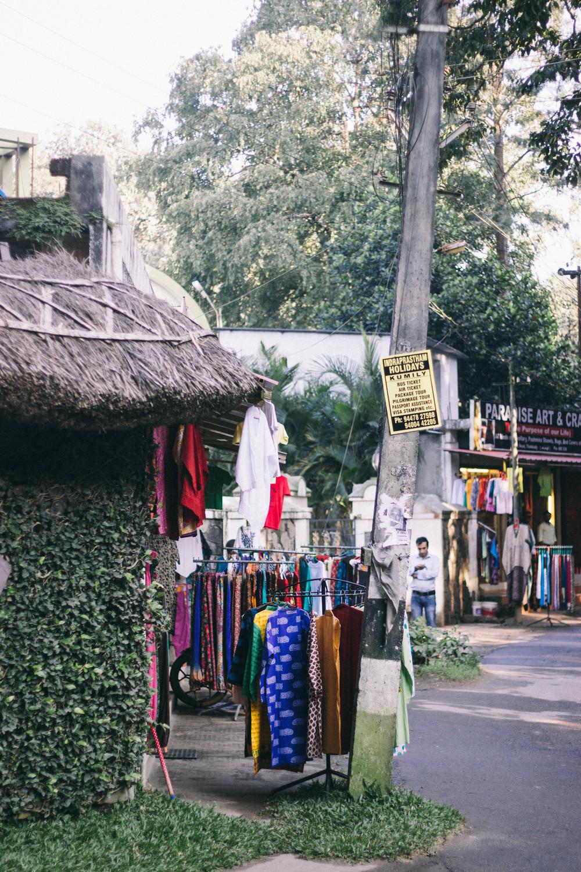 Kumily Shops Kerala India