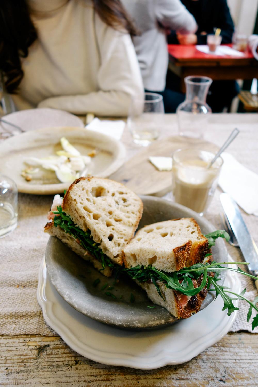 prosciutto sandwhich