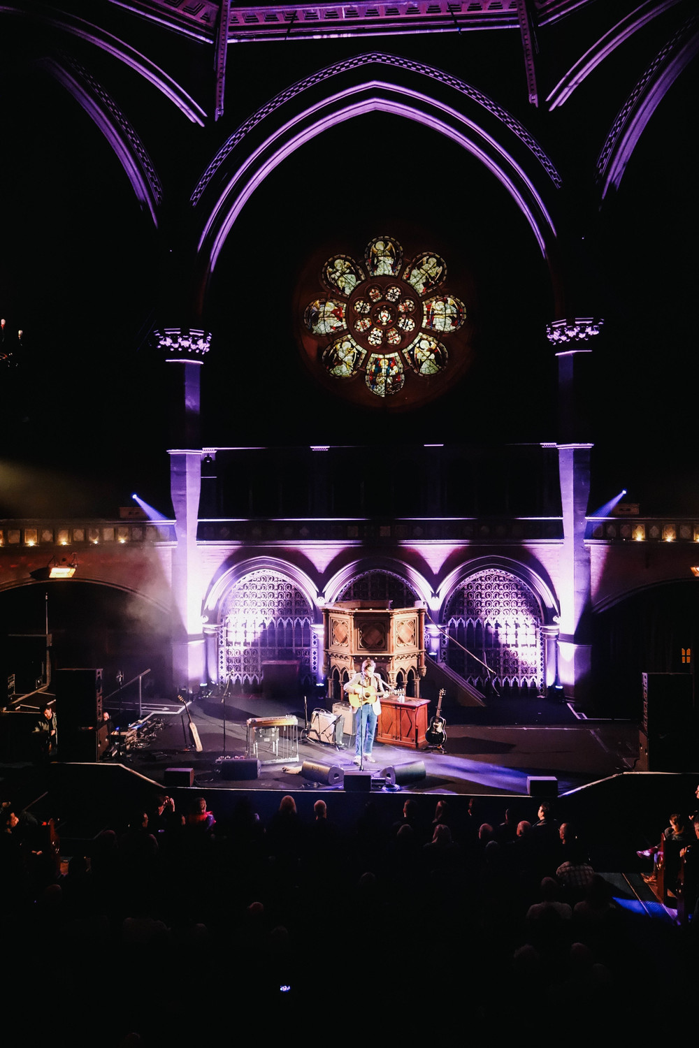 Friday night at Union Chapel, London | Joy Felicity Jane