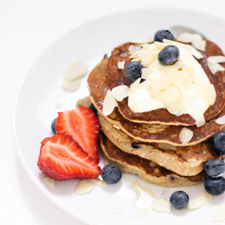 Recipe | Healthy Blueberry Pancakes