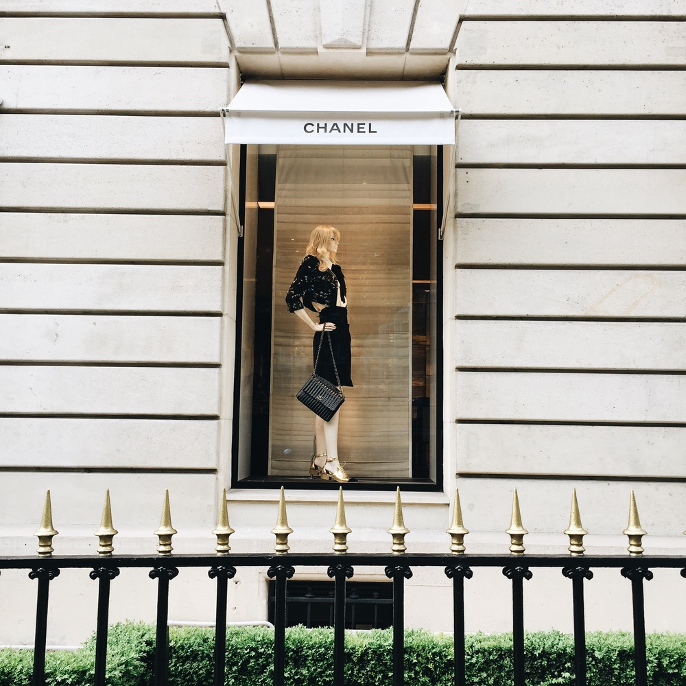 Chanel Store Paris
