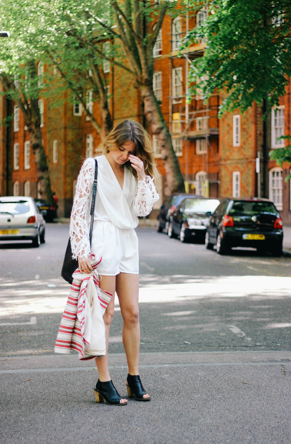 White Playsuit - Joy Felicity Jane