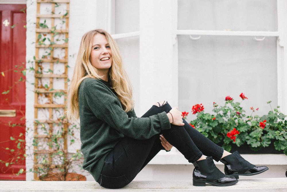 Steal Your Boyfriend's Jumper - Joy Felicity Jane