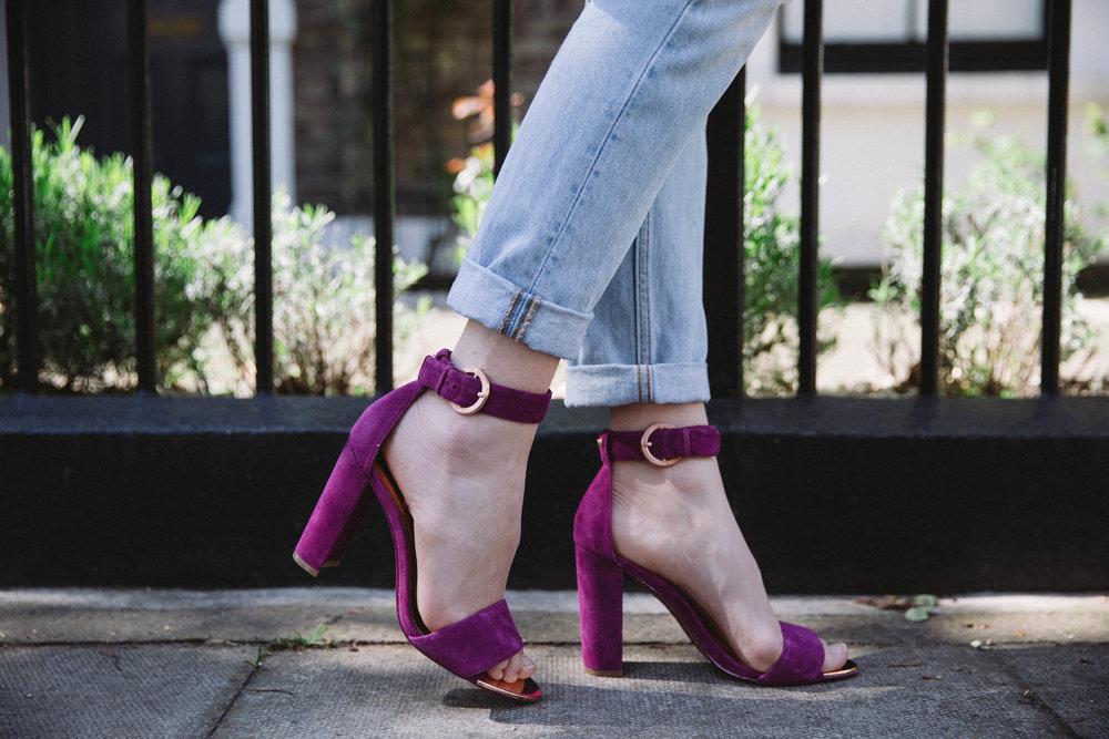 Ted Baker Block Heeled Sandals