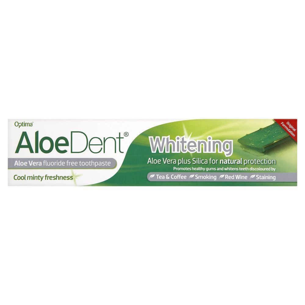 Aloedent Whitening Fluoride Free Toothpaste - The best fluoride free toothpaste I've tried!