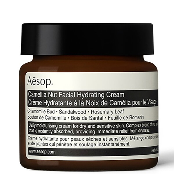 Aesop Camelia nut facial hydrating cream - Been using this for years, my all year round go-to
