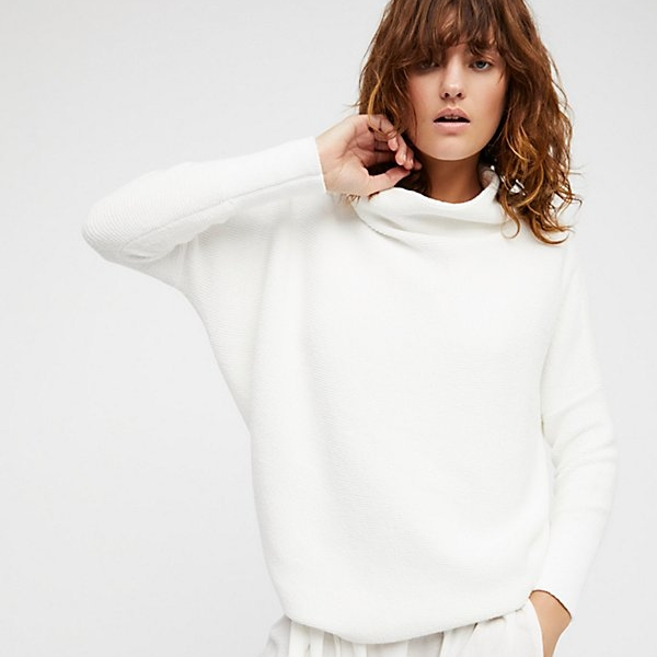 White Soft Jumper - I've been living in this for the past month, size down!