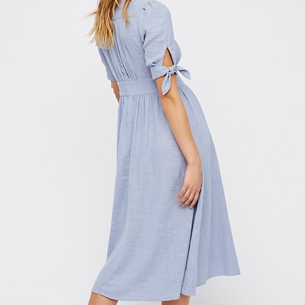 Cotton Midi Dress - I lived in this all summer, it's a real classic!