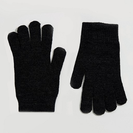 Touch Screen Black Gloves - Because the gram' can't wait!