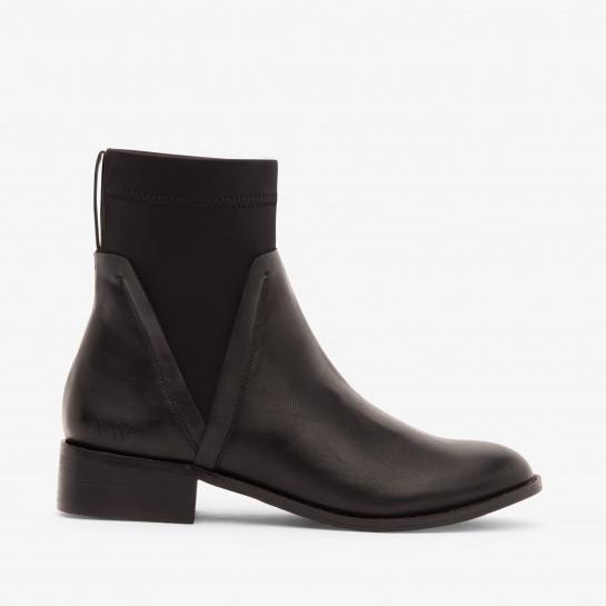 Matt&Nat Black Chelsea Boot - No chilly ankles & 100% Vegan