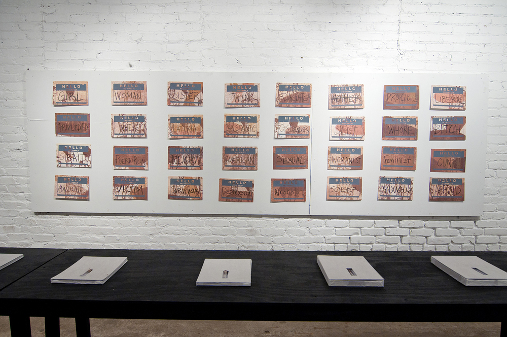 Out of Context Installation view