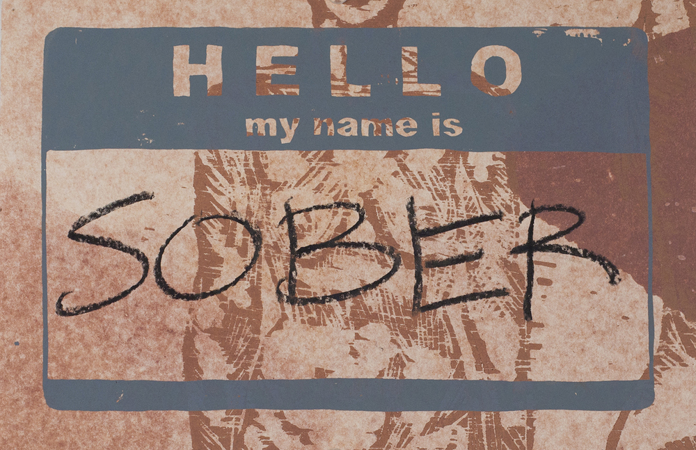 Hello, my name is...(sober)
