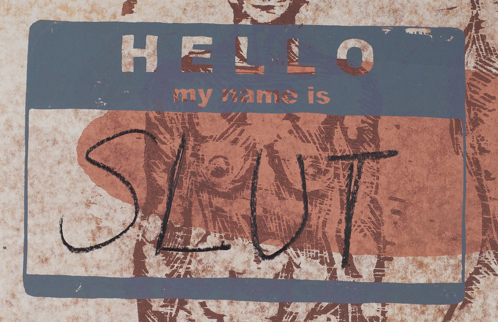 Hello, my name is...(slut)