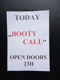 Signs you are a booty call