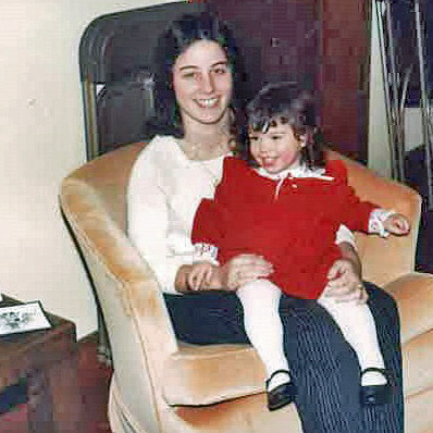 Me (age 3) and my amazing mom.