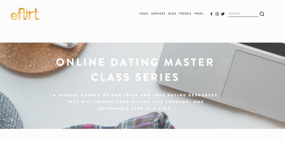 eflirt online dating master class series