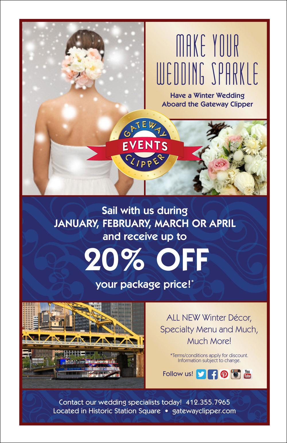 Winter Wedding Special Flyer