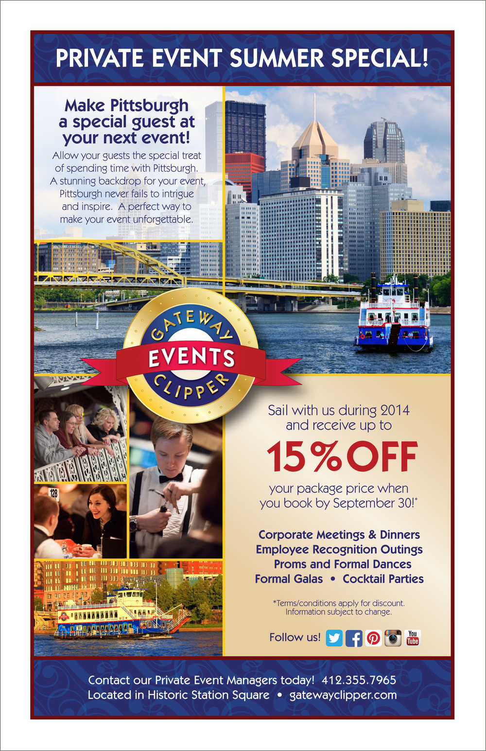 Private Event Special Offer Flyer