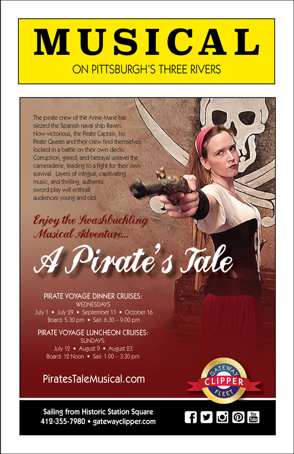 Flyer for a musical production