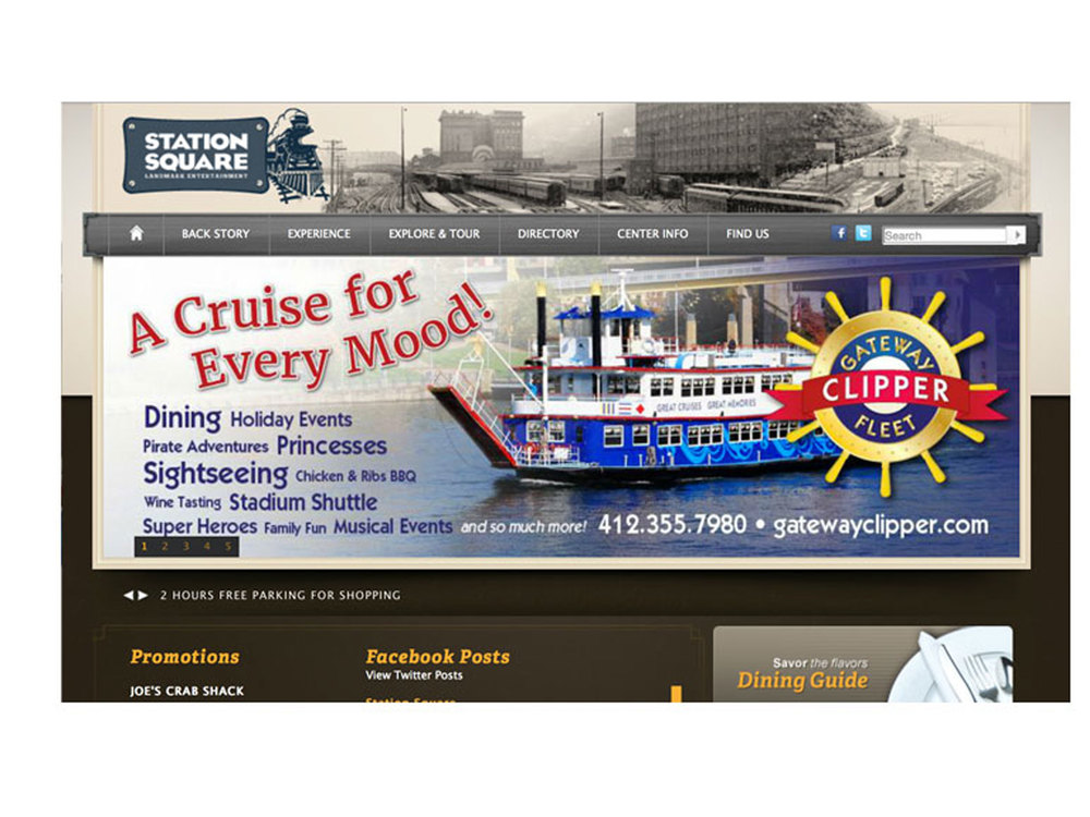 Gateway Clipper Fleet rotator ad