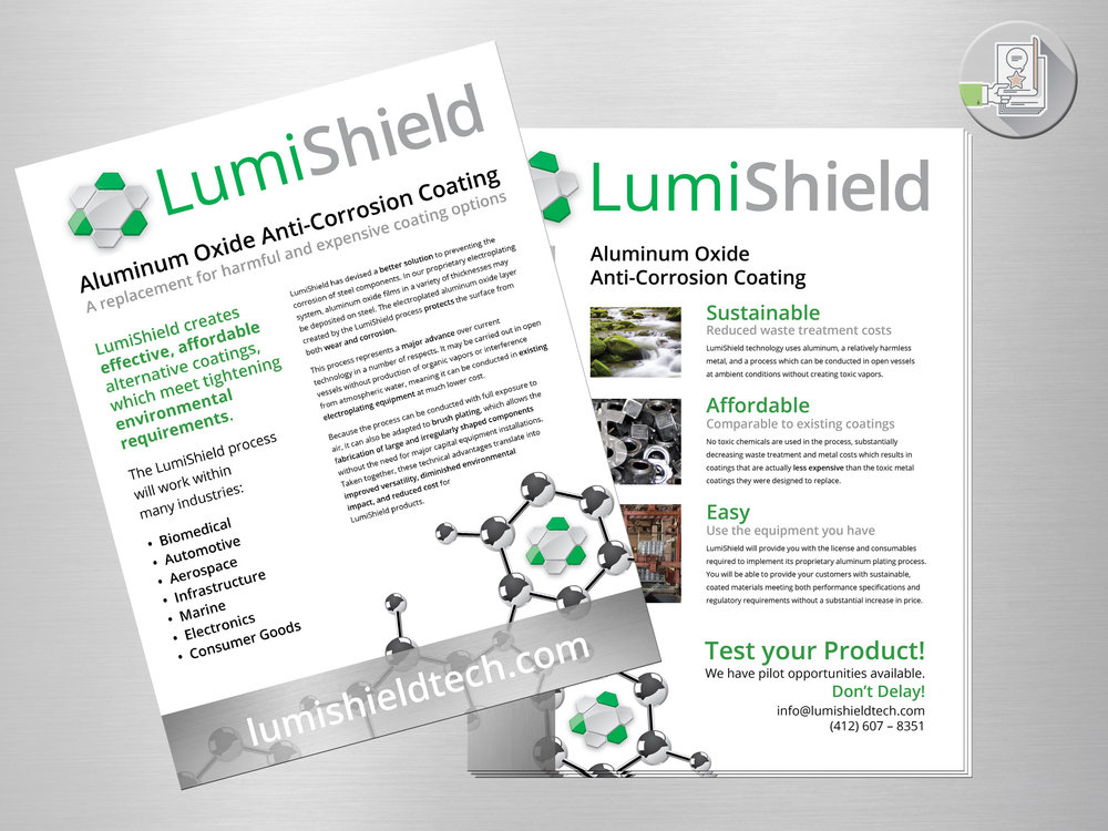 LumiShield flyer
