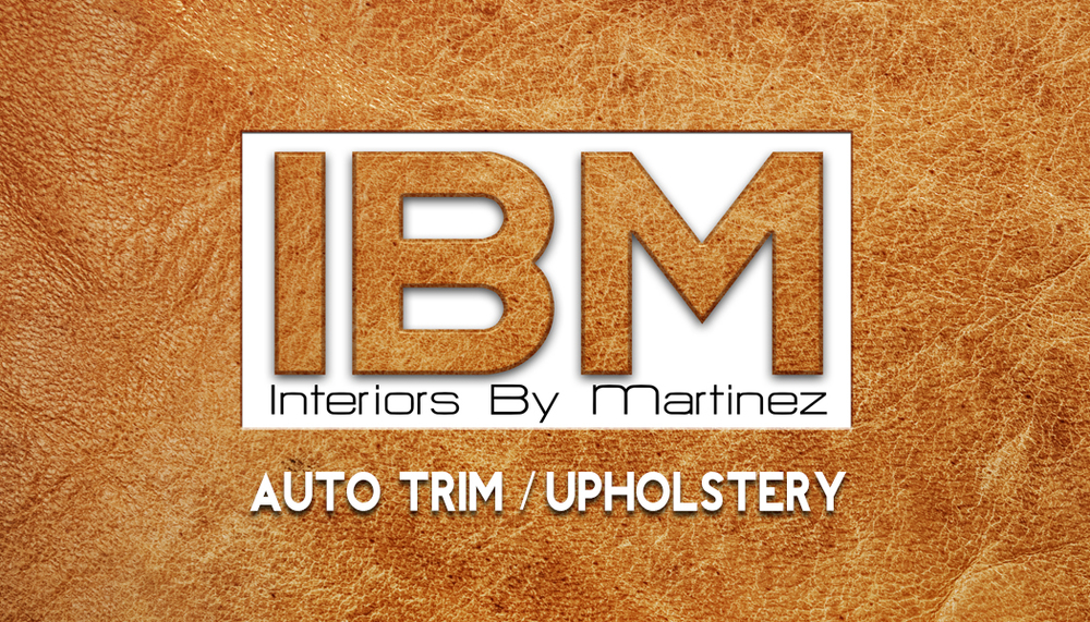 Interiors By Martinez - Custom Auto / Marine / Motorcycle interiors and upholstery services.